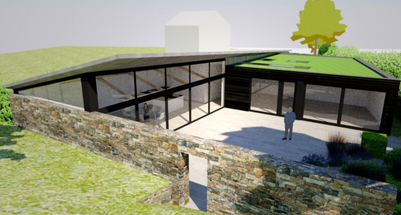 Planning Permission Granted for New Build Contemporary Home in ...