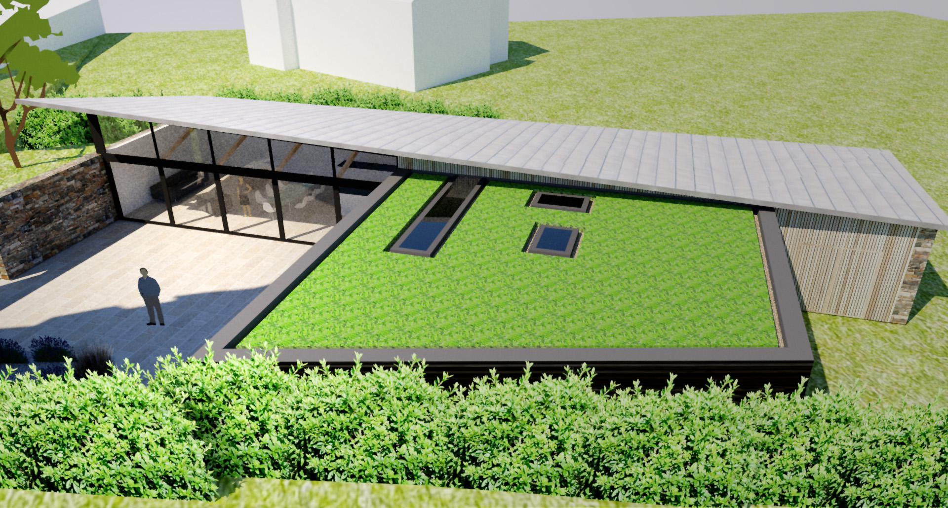 Planning Permission Granted For New Build Contemporary