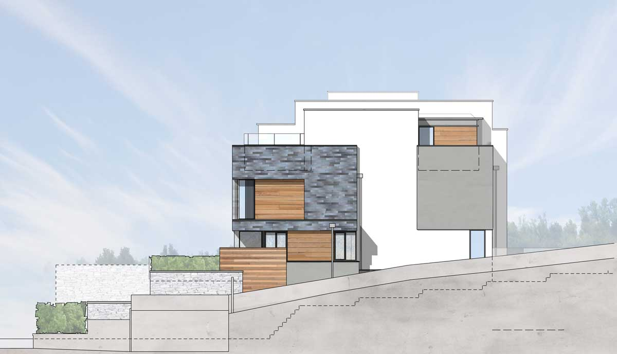 Salcombe coastal houses van ellen sheryn riba for Online architectural services